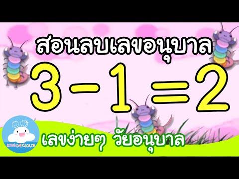 การลบเลขอนุบาล by KidsOnCloud