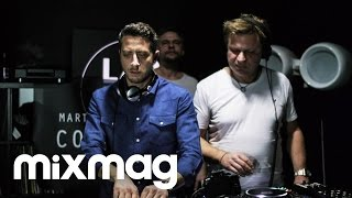 Davide Squillace, Martin Buttrich and Timo Maas in The Lab LDN
