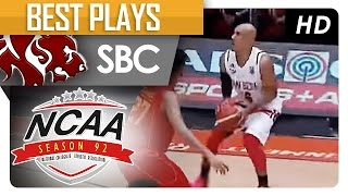 davon potts seals the game with a three point shot   sbc   best plays   ncaa 92 2016
