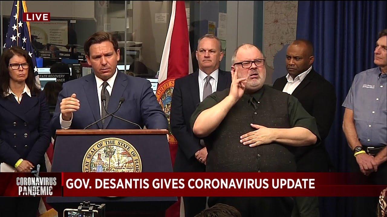 DeSantis: Florida public schools to remain closed until April 15
