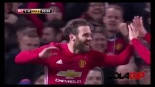 Manchester United 2 - 0 Hull City All Goals & EXTENDED Highlights - EFL CUP // 11/01/17