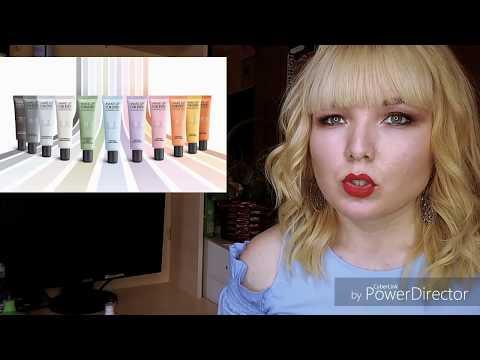 Урок №2  База для лица, цветные корректоры для лица