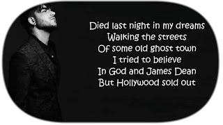 "Adam Lambert  ~ ""Ghost Town"" (Lyrics)"