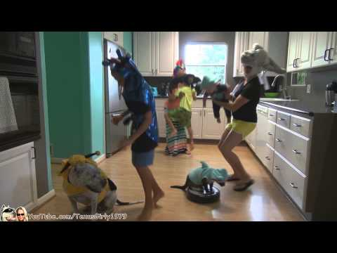 The Original #SharkCat does Dance Party in the Kitchen  like Harlem Shake   | TexasGirly1979