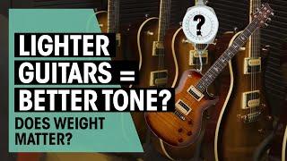 Do Lighter Guitars Sound Better?   In the Shop Episode #45   Thomann