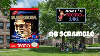 Mort's Tecmo 101 Video Series - QB Scramble
