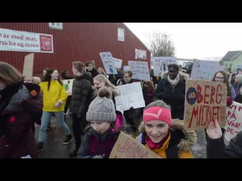 Klimastreik i Hadsel