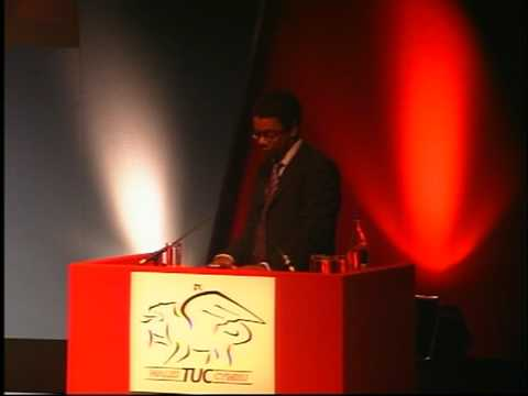 President's address - Wales TUC 2009 part 1