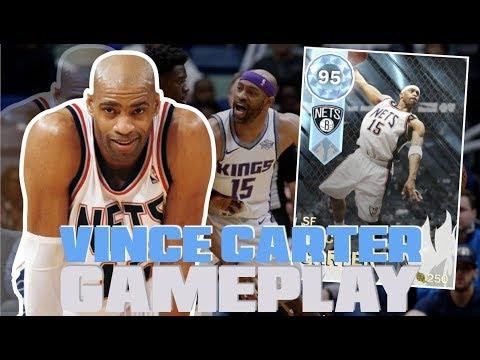 VINTAGE HIDDEN DIAMOND VINCE CARTER GAMEPLAY!! GREATEST MIRACLE COMEBACK?! NBA 2K18 MYTEAM