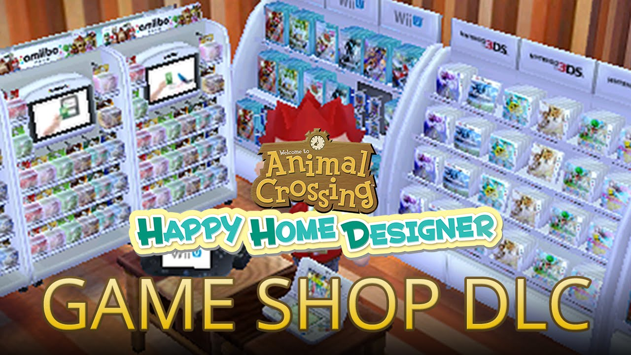 Nintendo Game Shop DLC With Claude   Animal Crossing: Happy Home Designer    YouTube