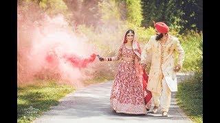 Gagan weds Ruhuneet II Beautiful Sikh Wedding Highlights II Cineknot Films