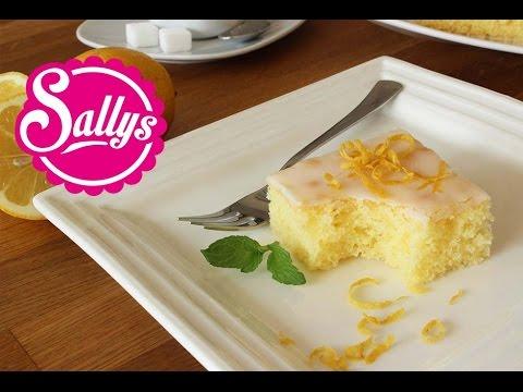 Zitronenkuchen Einfacher Fruchtig Frischer Ruhrkuchen Sallys