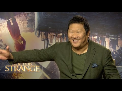 Benedict Wong teases teen reporter / hopeful about The Avengers - Doctor Strange interview