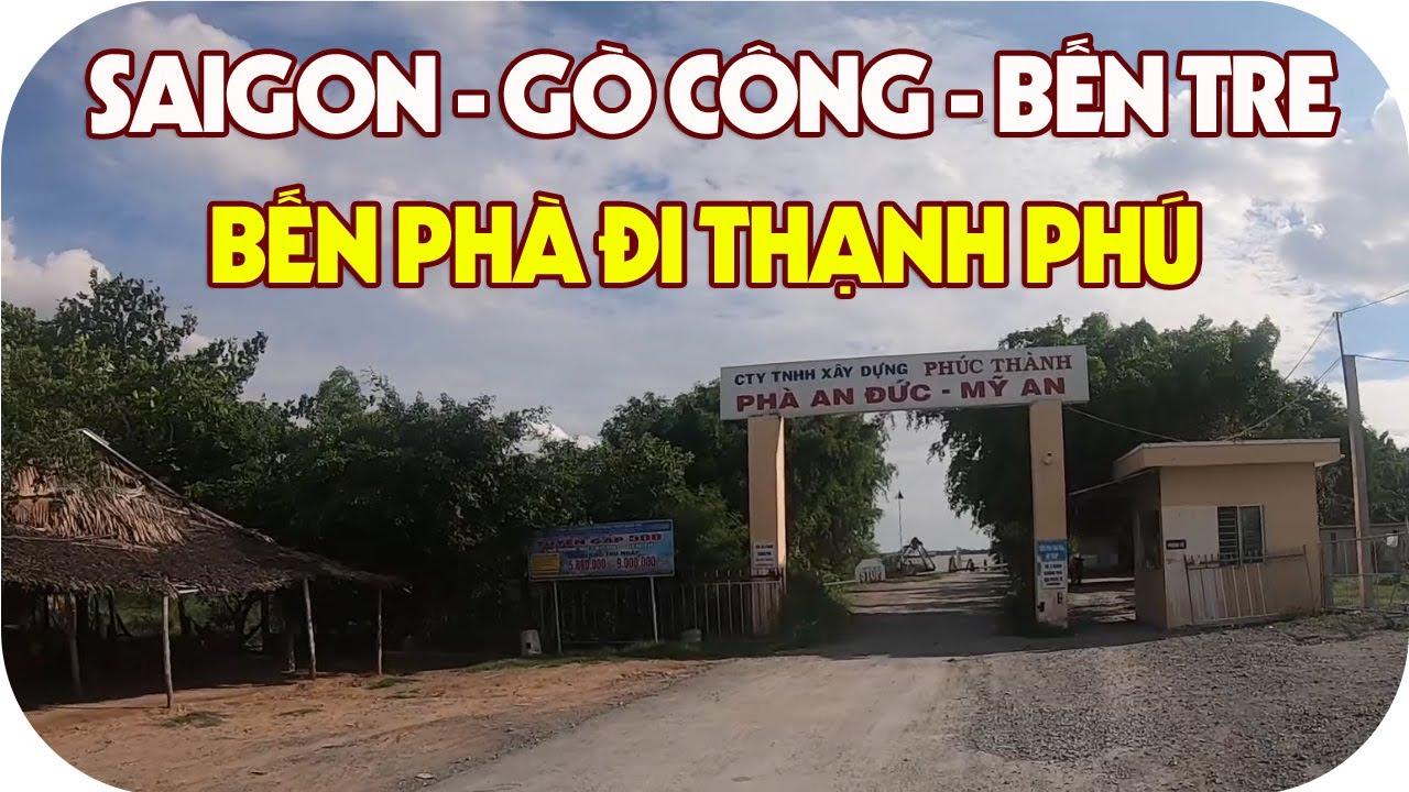 Tìm đến bến phà đi Thạnh Phú | Lang thang miền tây Sài Gòn – Gò Công – Bến Tre