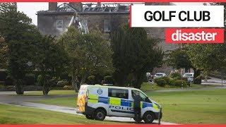 Fire at Historic Golf Club! | SWNS TV