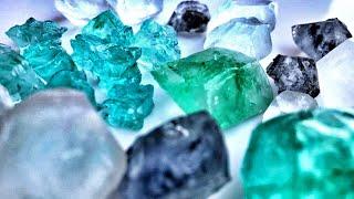 Кристаллы из лимонной кислоты как вырастить в домашних условиях Цветные кристаллы Experiments