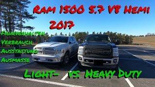 Der weiße Riese | RAM 1500 2017 5.7 V8 Hemi