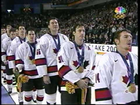 2002 Team USA vs Canada Gold Medal Hockey Game