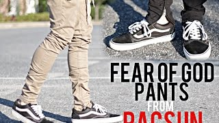 """FEAR OF GOD"" PANTS FROM PACSUN 