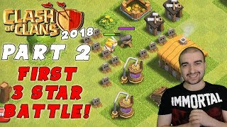 Clash of Clans Walkthrough: #2 - FIRST 3 STAR BATTLE! - (Android Gameplay Let's Play) - GPV247