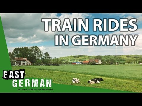 Travelling through Germany by Train | Super Easy German (71)