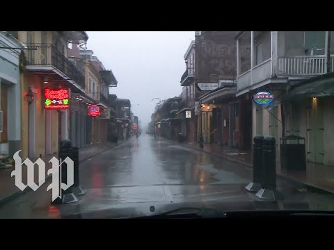 See what New Orleans looked like as Hurricane Ida tore through
