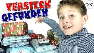 Heimlich Weihnachts Geschenke spionieren 🎁 Riesiges Versteck gefunden 👦 Ash5ive