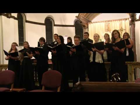 """How Can I Keep from Singing"" by Quaker Song arr. Jay Althouse 
