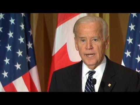 Joe Biden shares memories of Pierre Trudeau