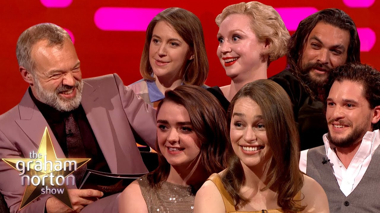 The BEST of Game Of Thrones On The Graham Norton Show Part 2