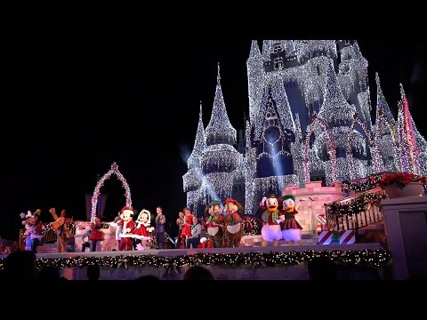 Mickey's Most Merriest Celebration NEW Holiday Stage Show 2016 | Mickey's Very Merry Christmas Party