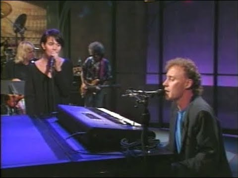 Bruce Horns & Shawn Colvin, Lost Soul, on Late Night, September 11, 1990