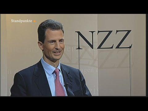 Erbprinz Alois von Liechtenstein | Über Monarchie, Weissgeld und Souveränität (NZZ Standpunkte 2012)