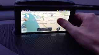 Volvo RTI 2005 GPS navigācijas modifikācija ar Waze iGO video reģistratoru un CityGuide latviski