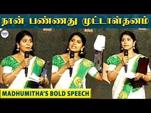 தற்கொலைக்கான காரணத்தை முதல் முறையாக மேடையில் போட்டுடைத்த MADHUMITHA | Vijay TV | LittleTalks