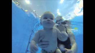 Подводное плавание грудничка