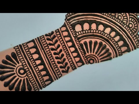 Full Hand Mehndi Design Bridal Mehndi Design For Hand Mehendi À¤® À¤¹à¤¦ À¤¡ À¤œ À¤ˆà¤¨ Youtube