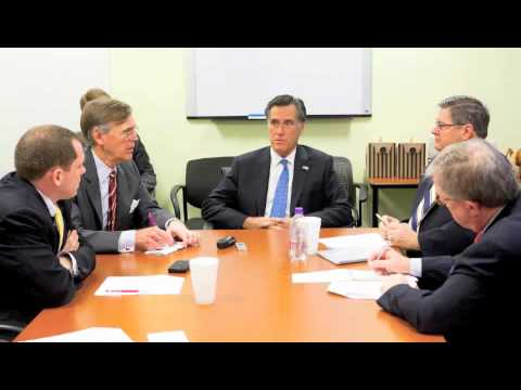 Mitt Romney meets with the Washington Examiner Editorial board (Part 2)