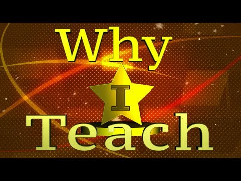 Why I Teach: Episode #3 (Series 3)