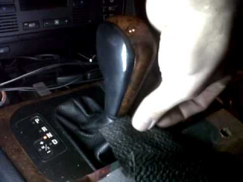 Removing Gear Lever Bmw E39 Auto Youtube