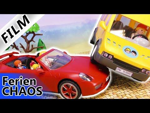 Playmobil Film Deutsch - UNFALL AUF DEM WEG ZUM FLUGHAFEN! URLAUB IN GEFAHR? Familie Vogel