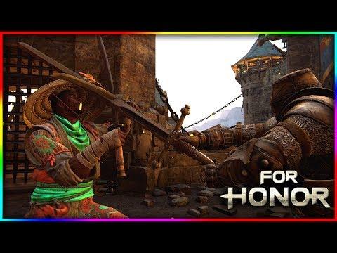 For Honor - Nail Biting Duels Vs a REP 40 Warden - Aramusha Gameplay