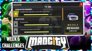 🌟ALL WEEK 6 CHALLENGES!🌟   Mad City   Roblox