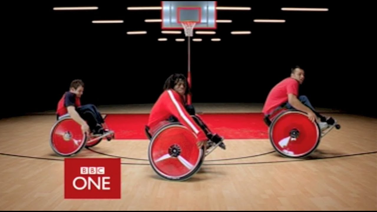 Bbc One Ident Wheelchair Dancing Youtube