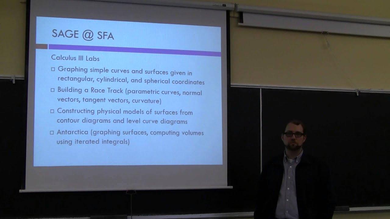 Brian Beavers - Sage in Calculus (Sage Edu Days 5)