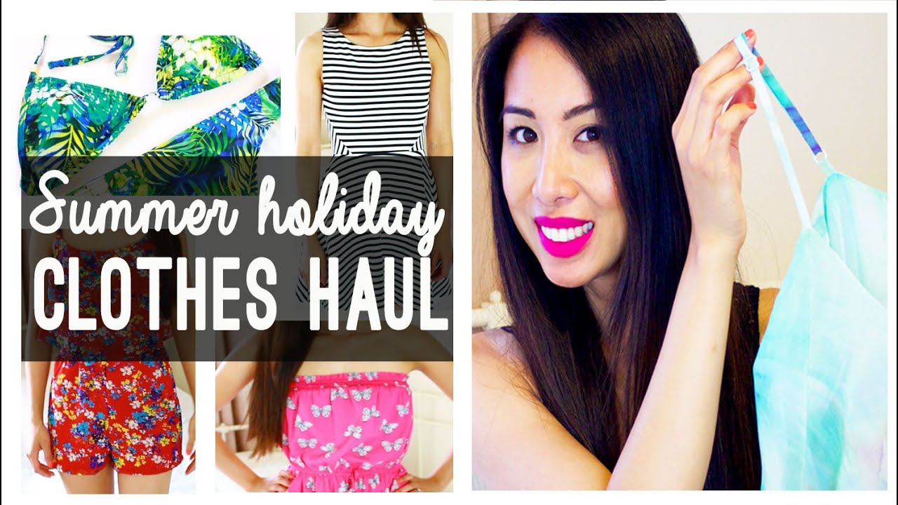 Summer holiday clothes haul | New Look, H&M, River Island & more ...
