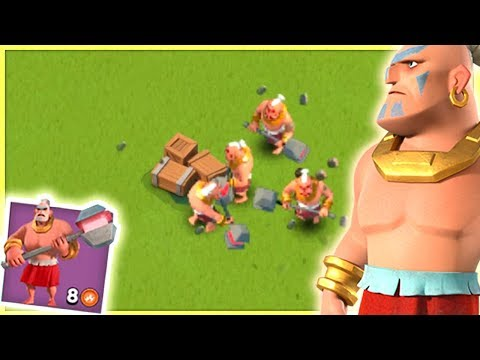 NEW Boom Beach Gunboat Ability! Super Warrior Update!