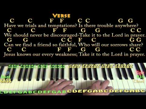 4.2 MB) Chords For What A Friend We Have In Jesus - Free Download MP3