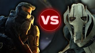 GENERAL GRIEVOUS vs MASTER CHIEF  |  Halo vs Star Wars: Who Would Win?