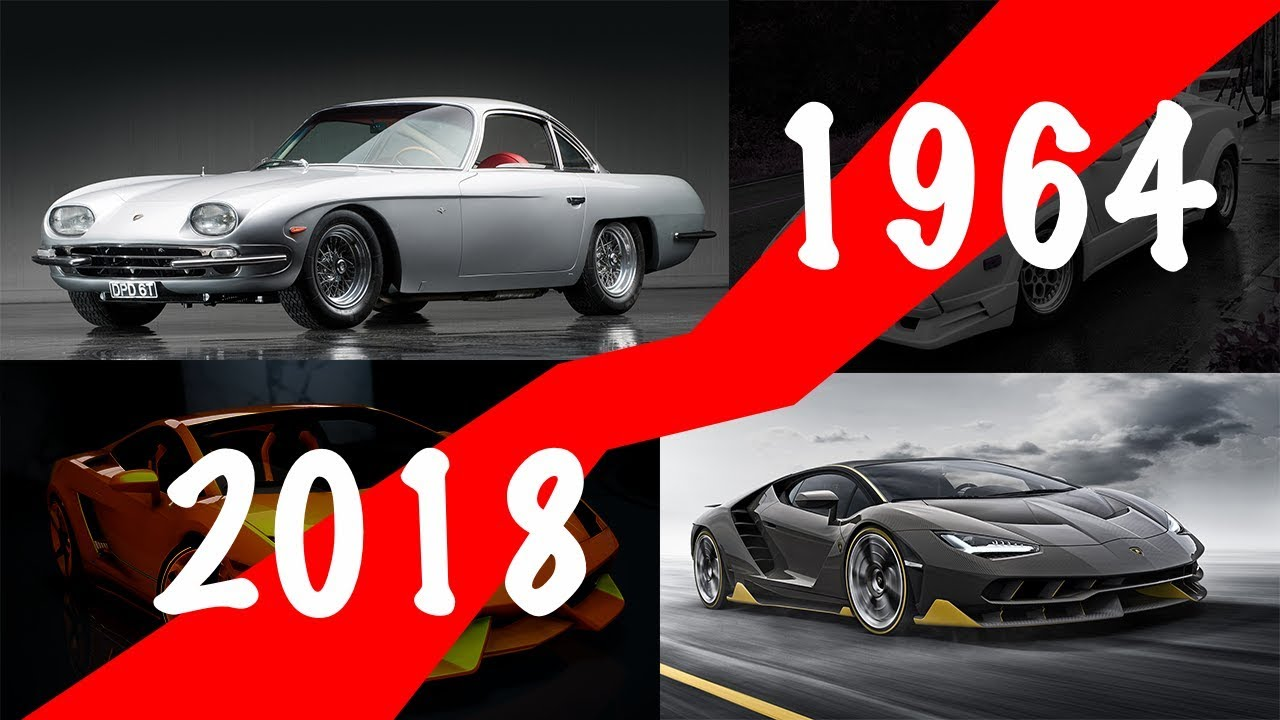 Lamborghini Evolution Car History Youtube